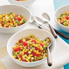 This low-calorie salsa goes great with any plain dish - grilled chicken, crab cakes - or regular tortilla chips.