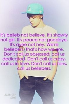 This is who we are!!! We love you Justin!!! This is US! This I real!