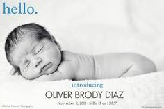 Boy birth announcement, simple and modern. Boy Photos, Baby Pictures, Baby Boy Birth Announcement, Birth Announcements, Invisible Man, Disney Sleeping Beauty, Preparing For Baby, Our Baby, Baby Baby