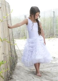 "Pixie Girl Ivory ""Georgia Peach"" Dress *PREORDER*"