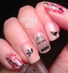 Geordie Nails: Mother Nature Manicure