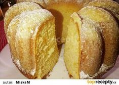 Czech Desserts, Baby Food Recipes, Cooking Recipes, Cornbread, Tart, Cheesecake, Food And Drink, Ice Cream, Sweets
