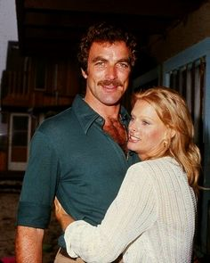 Tom Selleck with first wife Jacqueline Ray. They were married from 1971-1982. He adopted her son Kevin who was born in 1966.