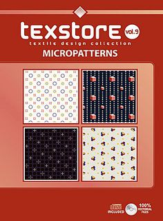 Vol 09- Micropatterns: Inspirational Graphic Design For Fashion and Interiors