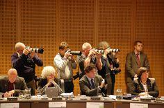 Fotografen aan het werk. Foto: Marco in 't Veldt