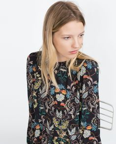 PRINTED DRESS - View all - Dresses - WOMAN | ZARA France