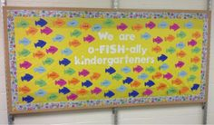"""An """"I Am o-FISH-ally"""" bulletin board!"""