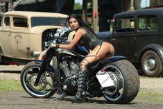Moto : Illustration Description Motorcycle Girl