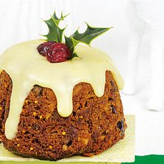 Try this Christmas Pudding Cupcakes recipe.
