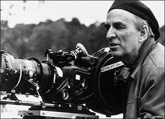 Ingmar Bergman - award winning Swedish director known for serious films about death, religion and the struggles of being human.  Notable films: The Seventh Seal (1957), Wild Strawberries (1957), Persona (1966), Cries and Whispers (1972), Fanny and Alexander (1982).