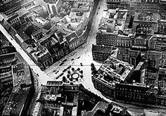 1925 Luftbild ueber den Hausvogteiplatz
