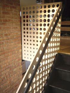 cnc plywood guard rail