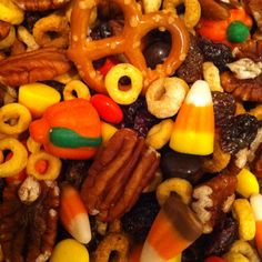 My fall snack mix!