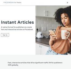 How to use Facebook Instant Articles to Boost Your Brand | SH1FT