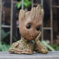 "Guardians of The Galaxy Vol. 2 Baby Groot 7"" Figure Flowerpot Style Toy Gift Hot"