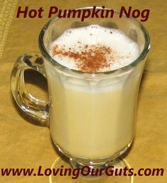 Plan to Eat - Pumpkin Nog - MarlaJ