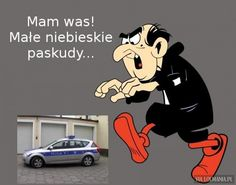 Heh Gargamel zawsze na propsie xD Scary Funny, Funny Cute, Funny Mems, Best Memes, Disney Characters, Fictional Characters, Family Guy, Jokes, Humor