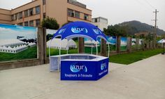 3x3M Dome Tent With 5 Tables