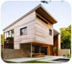 Foto Rumah Kayu Minimalis