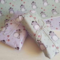 Super süßes Geschenkpapier 😍  Mit Piraten Katze, Fischen und Anker ⚓ Geschenkideen für Groß und Klein mit viel Liebe selbst gestaltet.