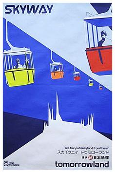 #attraction_poster #TOKYO_DISNEYLAND #TOMORROWLAND_Skyway #トゥモローランド #スカイウェイ #東京ディズニーランド