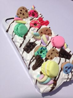 Way Too Sweet Kawaii Iphone 4/4s Case by 4TheLoveofNails on Etsy, $30.00