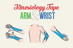 Kinesiology Tape for Elbow, Wrist and Hand Pain