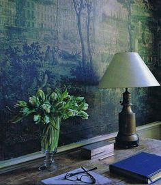 Grisaille wallpapers stunning, historic and elegant