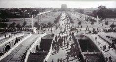 1912年,民国伊始改造后的天安门前千步廊,这是对天安门广场进行的第一次改造