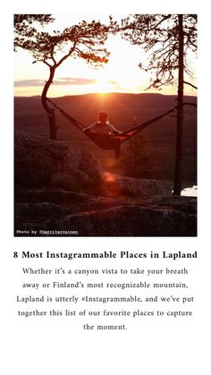 Whether it's a canyon vista to take your breath away or Finland's most recognizable mountain, Lapland is utterly #Instagrammable, and we've put together this list of our favorite places to capture the moment. Polar Night, Canyon River, Spruce Tree, Winter Photos, Midnight Sun, Nature Center, Another World, Finland, Places To See