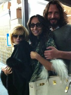 Linda Ramone and Vicky&Chris at Beverly Glen (Linda Ramones pic)