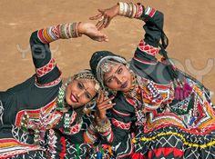 Kalbeliya Dancers, India