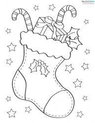 3 Printable Christmas Pictures to Color
