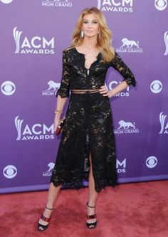 Faith Hill - Fashion at the ACM's
