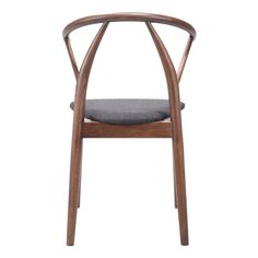 Elegant Mid-Century Modern Upholstered and Wood Dining Chair - Walnut - ZM Home, Black Espresso Linen Dining Chairs, Mid Century Dining Chairs, Dining Chair Set, Dining Furniture, Dining Room, Renovation Hardware, Modern Dining Chairs, Wood Design, Mid-century Modern