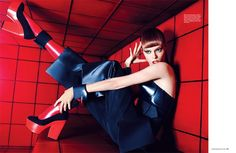 Model: Coco Rocha   Photographer: Simon Upton - for Harpers Bazaar Singapore  April, 2012