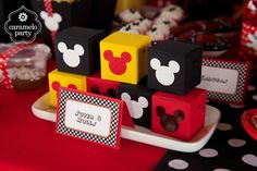 Theme Mickey, Minnie Y Mickey Mouse, Fiesta Mickey Mouse, Minnie Mouse 1st Birthday, Mickey Mouse Clubhouse Birthday, Mickey Party, Mickey Mouse And Friends, Miki Mouse, Mickey Mouse Decorations