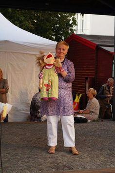 Ronja auf der Bühne