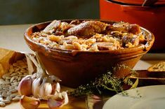 Cassoulet is a famous french dish in sound France areas including Carcassonne, Castelnaudary, Toulouse ... basically a bean stew dish, you can add/omit other ingredients: ham, duck confit, goose confit,Toulouse sausage ...