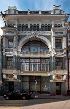 Торговый дом В.Ф. Аршинова в Старопанском переулке. 1899-1900, архитектор Ф.О. Шехтель