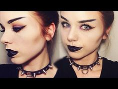 Hey everyone, this is my take on a goth makeup tutorial. I hope you enjoy it and let me know what I should do next in the comments :) Kat Von D Shade and Lig. Goth Makeup Tutorial, Eyebrow Tutorial, Goth Eyebrows, Straight Eyebrows, Makeup Looks, Makeup Stuff, Makeup Tutorials Youtube, Natural Eye Makeup, Eyebrow Makeup