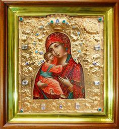 Икона Божией Матери «Владимирская». Сертификат 253