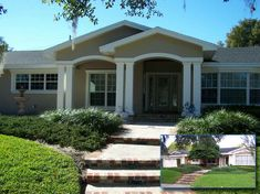 Front Porch Design Ideas find this pin and more on front porch designs by prupp30265 Ranch Style Home Exterior Remodel 1960s Ranch Exterior Remodeling