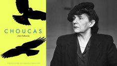 Cover of the book  Choucas by Zofia Nałkowska  and portrait of Zofia Nałkowska, photo: Władysław Sławny / Forum