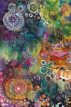 Ink, watercolor, pens, pencils, correction pen