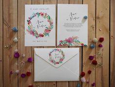Os 35 convites de casamento mais elegantes para anunciarem o vosso casamento! Image: 3