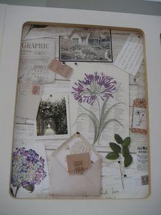 Wallpaper ideas - Botanical montage