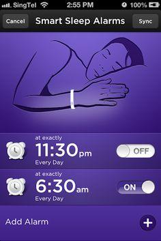 Jawbone Up Smart Sleep Alarms
