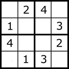 Printable Sudoku For Kids. Page 2 Printable Easy Sudoku Puzzles Printable Fill In Puzzles. Math Games For Kids, Puzzles For Kids, Worksheets For Kids, Activities For Kids, Free Printable Crossword Puzzles, Sudoku Puzzles, Logic Puzzles, Logic Problems, Maila