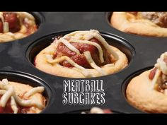 Meatball Subcakes - YouTube
